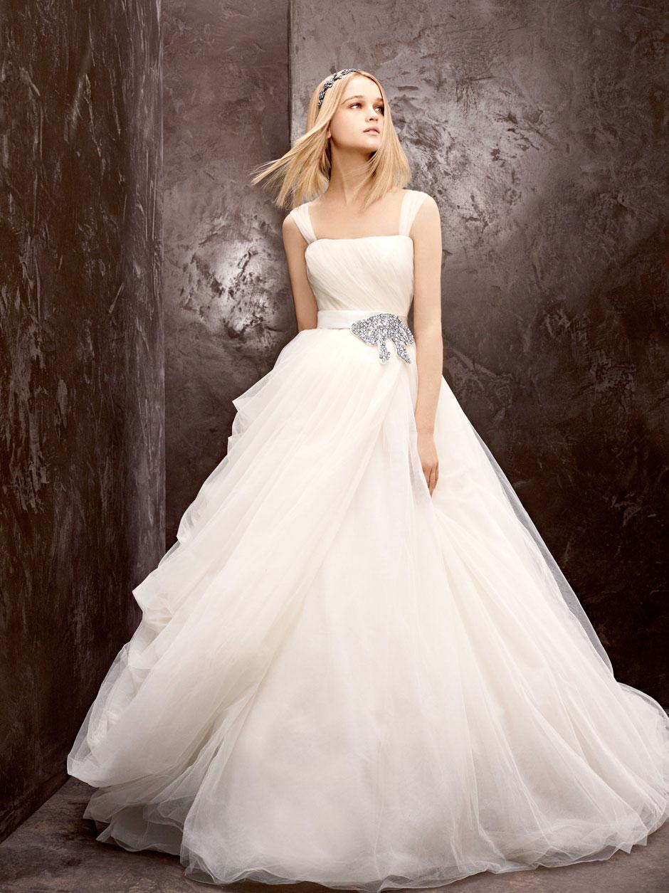 Свадебное платье от вера вонг